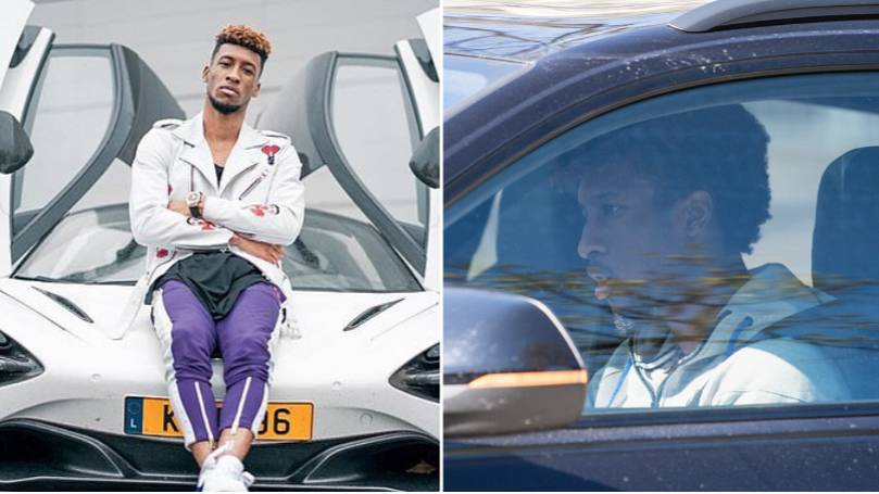Bayern Munich Star Kingsley Coman Faces Hefty Fine For Driving Mclaren And Not Company Audi Car Sportbible