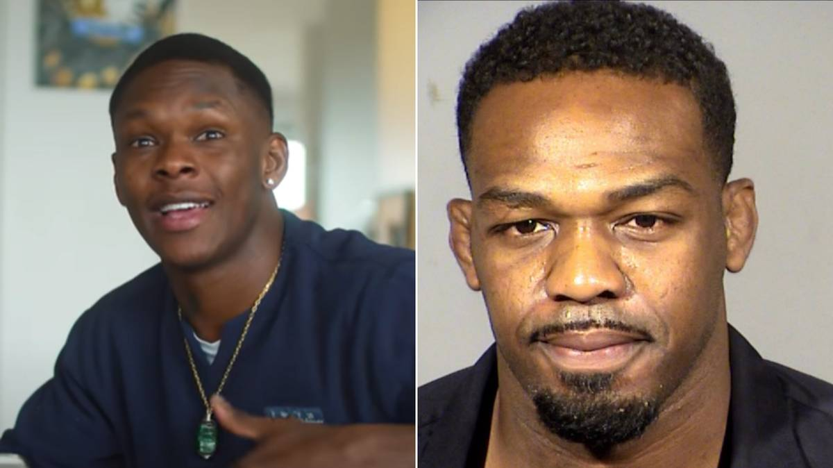 Israel Adesanya Gives His Honest Thoughts On Jon Jones' Arrest, He's Actually Spot On - SPORTbible