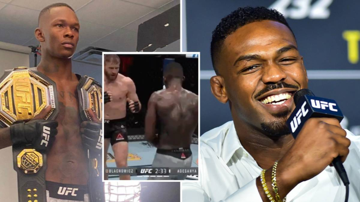 Jon Jones Trolls Israel Adesanya After UFC 259 Defeat To Jan Blachowicz - SPORTbible