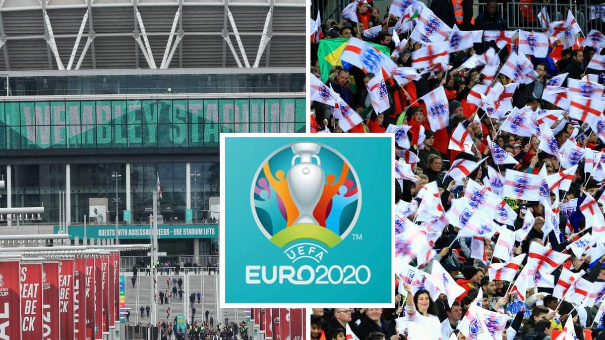 Euro 2020 Matches At Wembley Set To Have Full Capacity
