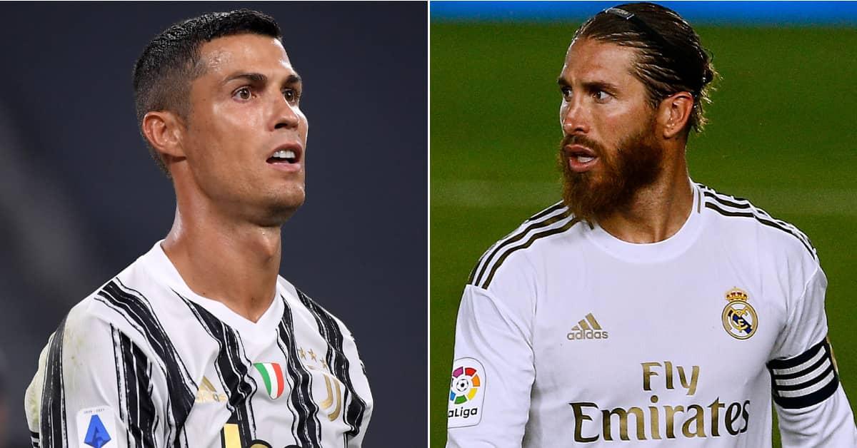 Cristiano Ronaldo Hasn't Spoken To Sergio Ramos In Two Years