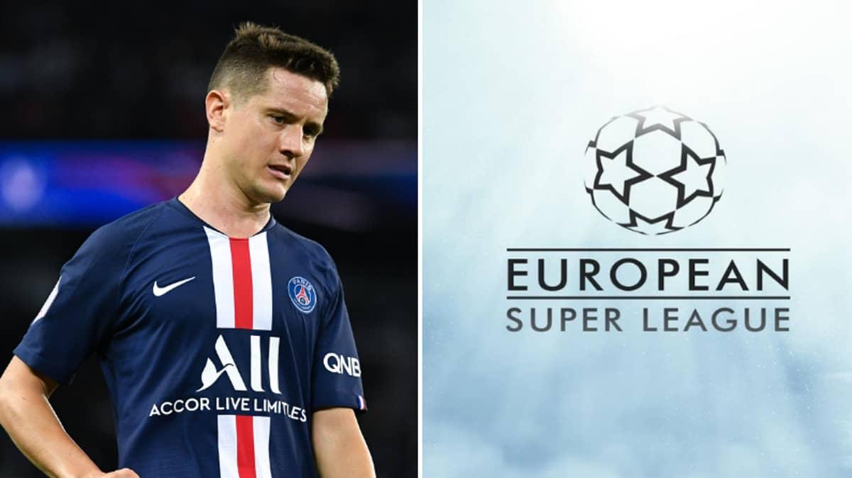 PSG Star Hits Out At European Super League