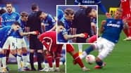 Liverpool Fans Are Fuming After Lucas Digne Jokes About Richarlison's Red Card On Instagram