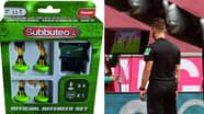 You Can Now Buy A Subbuteo VAR Referee Set And It's Officially Ruined Childhoods