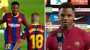 17-Year-Old Ansu Fati Denied Man Of The Match For Barcelona Because Of His Age