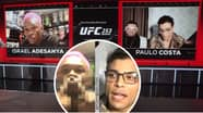 Israel Adesanya And Paulo Costa Get Heated In Explosive Pre-Fight Interview Ahead Of UFC 253