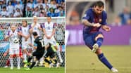 Lionel Messi Has Trained Himself To 'Sprain His Ankle' In Insane Free-Kick Technique