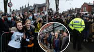 Police Insist Majority Of Marine FC Fans Were Socially Distanced Ahead Of Spurs Game