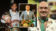 Anthony Joshua And Tyson Fury Not In Ring Magazine's Newest Pound-For-Pound Top Ten Rankings