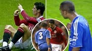 What Ashley Cole Told Cristiano Ronaldo During Manchester United Vs Chelsea Match