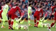 Andrew Robertson Admits He Regrets Ruffling Lionel Messi's Hair