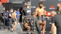 UFC Fighter Ryan Benoit Goes Viral After Struggling To Stand At Weigh-In Because Of 'Brutal' Weight Cut