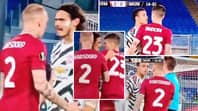 Edinson Cavani Incredibly Backed Up Mason Greenwood During Heated Confrontation With Roma Players