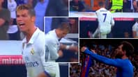 Cristiano Ronaldo's Outburst Following Lionel Messi's Winner Vs Madrid Is A Legendary Breakdown