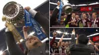 Emotional Scenes As Leicester Players Present Chairman Top Srivaddhanaprabha With FA Cup