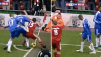 When Jose Bosingwa Kung-Fu Kicked Yossi Benayoun And Got The Free-Kick In His Favour