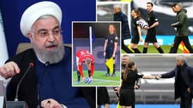 Tottenham Vs Man United Clash Censored 'Over 100 Times By Iranian TV Due To Assistant Referee'