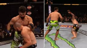 Remembering The Greatest Round Of Fighting In UFC History