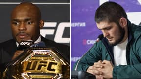 Kamaru Usman Says Fight With Khabib Nurmagomedov Would Be The Biggest In UFC History