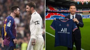 Lionel Messi And Sergio Ramos Have Had Their First Conversation As Teammates