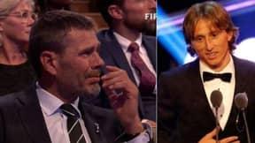 Luka Modric's Speech At FIFA Awards Made Zvonimir Boban Cry