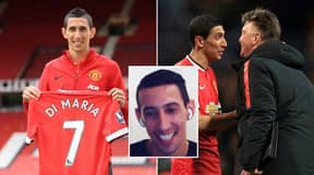 Angel Di Maria Didn't Give A 'F**k' About Man United No.7 Shirt And Tears Into Louis van Gaal In Brutal Outburst