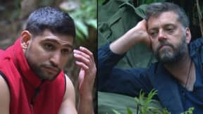 People Aren't Happy With Amir Khan's 'Banter' On 'I'm A Celeb'
