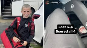 Kai Rooney Scores Four Goals For Man Utd U12's Against Liverpool, He's Been On Fire This Season