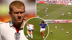 Paul Scholes' Individual Highlights Vs France At Euro 2004 Show He Dropped A Football Masterclass