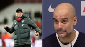 Pep Guardiola Forced To Admit Defeat In Awkward Exchange With Journalist