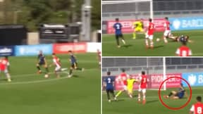 17-Year-Old Charlie Patino Fully Took The P**s Out Of Phil Jones With Stunning Goal