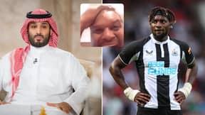 Allan Saint-Maximin Hypes Up Imminent Saudi Newcastle Takeover