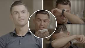 Cristiano Ronaldo Breaking Down In Tears Watching Video Of His Late Father Is Still Incredibly Powerful