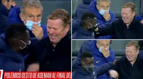 Ronald Koeman Spotted Laughing At Full-Time After Barcelona Humiliation
