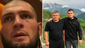 Khabib Nurmagomedov Loses His Cool With Journalist For Asking About Late Father Abdulmanap