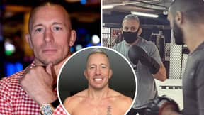 UFC Legend Georges St-Pierre Shows Off Incredible New Physique, Teases Big Announcement For 2021