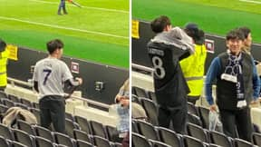 Fan Brutally Ditches 'Son' Shirt For Chelsea Shirt With 'Lampard' On The Back