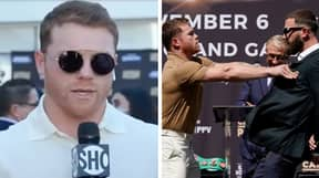 """""""He Talked About My Mother, He Said 'You Motherf**ker'"""": Confused Canelo Reveals What Sparked Press Conference Brawl"""