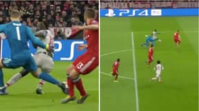 Sadio Mané Turns Manuel Neuer Inside Out With The Most Incredible Touch, Turn And Finish