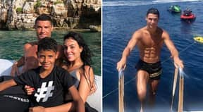 Generous Cristiano Ronaldo Left Greek Hotel Staff €25k Tip For Service During Family Holiday