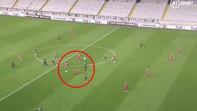Former Wigan Athletic Midfielder Jordi Gomez Scores Outrageous Goal From His Own Half