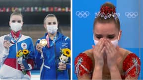 Russians Take Aim At 'Biased' Judging During Women's Rhythmic Gymnastics Final