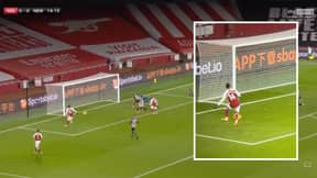 Pierre-Emerick Aubameyang Comes Up With Miss Of The Season Against Newcastle