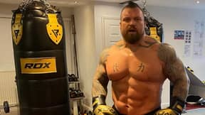 Eddie Hall Has Lost Five-And-A-Half Stone Since Winning World's Strongest Man