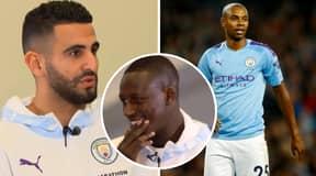 Riyad Mahrez Seems To Have Accidentally Revealed Fernandinho's Man City Departure