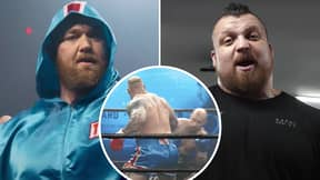 Eddie Hall Drops Scathing Attack On Hafthor Bjornsson After Calling Boxing Debut 'Biggest Load Of S**t'