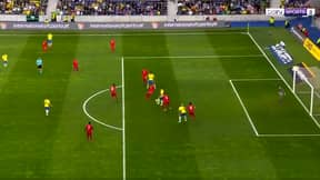 Roberto Firmino Produces Saucy Touch Into Teammate's Path, Commentator Loses It