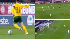 Wales Have Just Torn Belgium To Shreds With Beautiful One-Touch Football