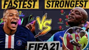 YouTuber Simulates Game Between The Fastest XI And The Strongest XI On FIFA 21