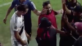 Zlatan Ibrahimovic Grabbed His Crotch After Confrontation With Heckling LAFC Fan